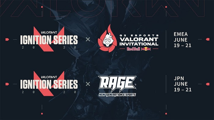 Fechas de los torneos de la Ignition Series