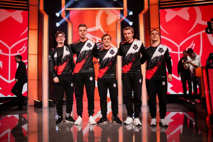FullEsports - G2 Esports amplia los contratos de su quinteto de League of Legends hasta 2022
