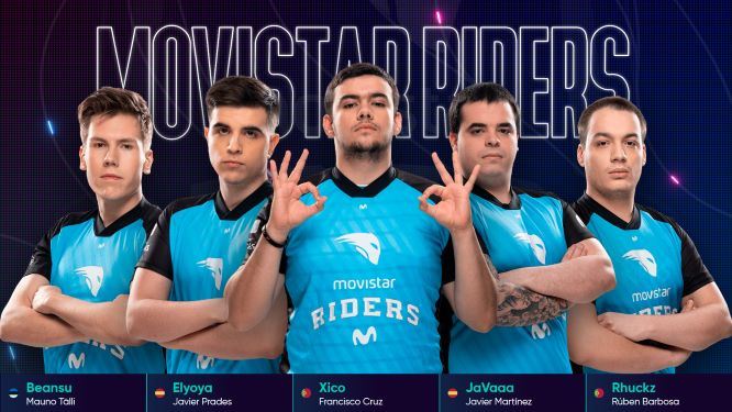 Movistar Riders lidera la SLO