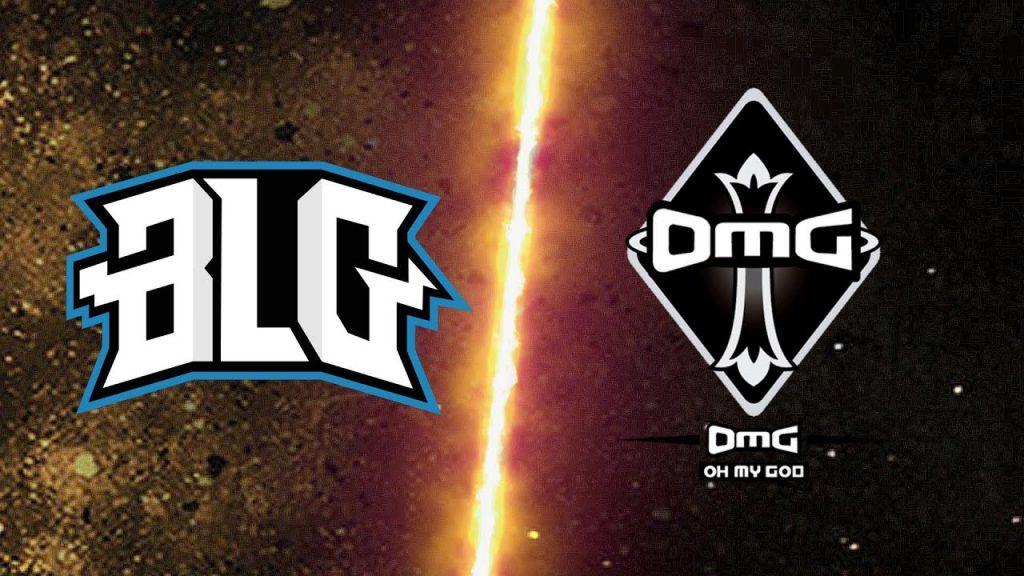 Imagen del partido disputado entre BiliBili Gaming y OMG pertenecientes a la LPL, Liga China de League of Legends.