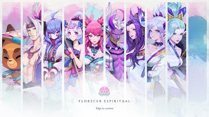 Nuevos aspectos Flor Espiritual están en camino a League of Legends
