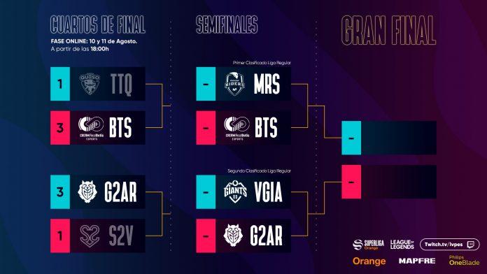 Semifinales SLO