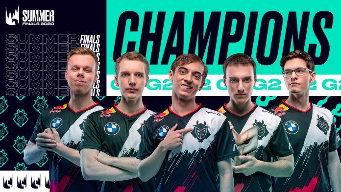 FullEsports - G2 Esports vuelve a ganar 3-0 a Fnatic en la final y ya es el equipo con más títulos de LEC