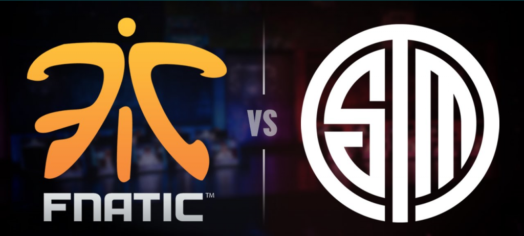 Partido disputado entre Fnatic y Team Solo Mid.