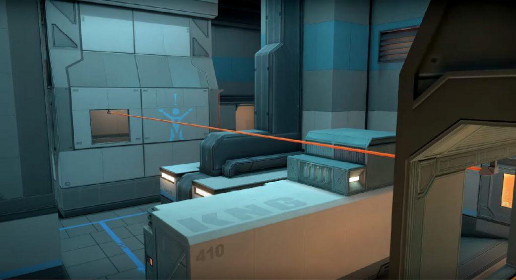 La tirolina de Icebox parece ser horizontal, y no vertical como encontramos en las tirolinas de Haven.