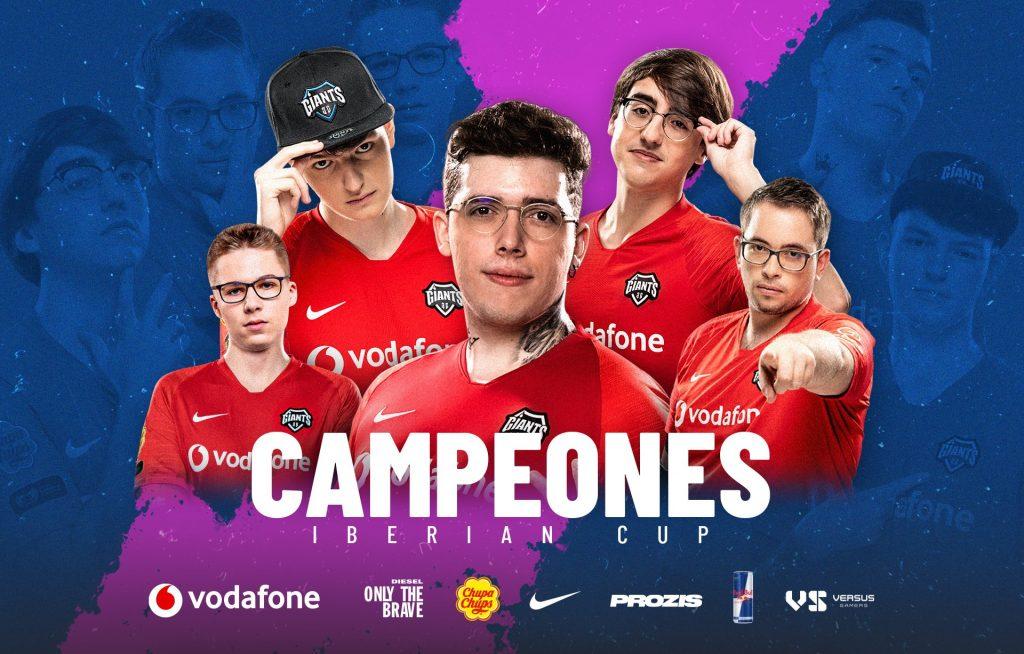 Giants ganador Iberian Cup