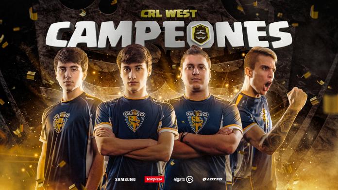 Team Queso campeón de CRL West