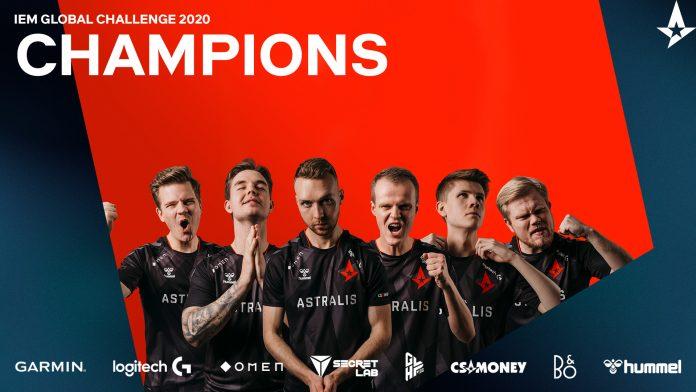 FullEsports - Astralis levanta la IEM Global Challenge 2020 sin oposición