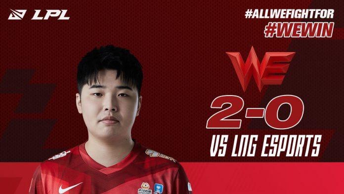 FullEsports - Concluye la Semana 3 de la LPL con Team WE a la cabeza