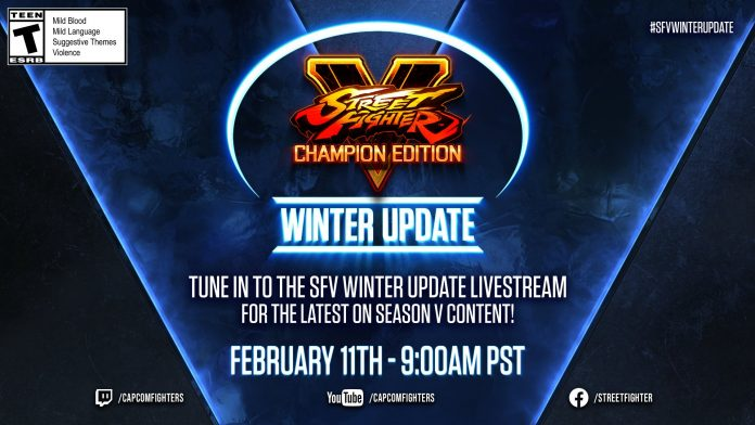 Full Espsorts - Toda la información de la Winter Update de Street Fighter V