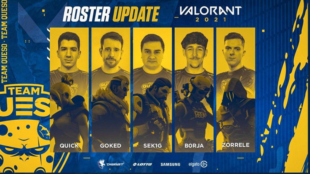 Team Queso Valorant