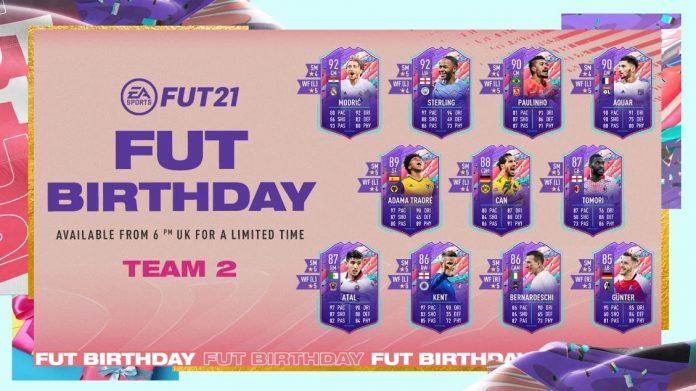 FUT Birthday 2 cartas