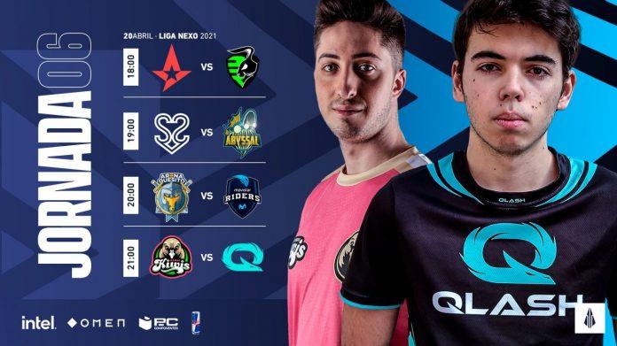 Jornada 6-Liga Nexo