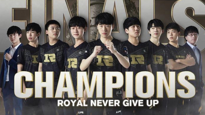 RNG Campeón LPL