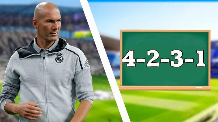 FIFA 21 formación 4231